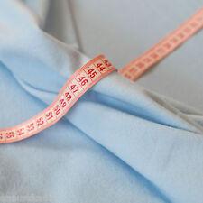 Sweatshirt Stoffe Zartblau - Stoff Rücken Weich Fleece - Sommer Sweat Jogging