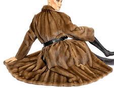 L XL Nerzmantel Vintage Pelzmantel Nerz Pelz Mantel SAGA mink fur coat Visone
