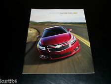 2011 Chevrolet Cruze LS LT Eco sales brochure deluxe dealer literature
