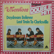 "7"" MONKEES Daydream Believer Last Train to Clarksville"