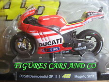 MOTO GP 1/18 DUCATI DESMOSEDICI GP11.1 # 46 COLLECTION  ROSSI MUGELLO 2011