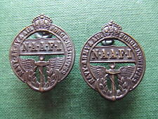 W.W.2.     N.A.F.F.I.  PAIR OF COLLAR BADGES.    SUPERB CONDITION.