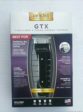 New Andis Experience GTX Trimmer 08770/ 04775 GTO Black With T-Outliner Blade