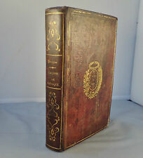 BAUME & POIRRIER / LECONS ELEMENTAIRES DE PHYSIQUE, NOTIONS DE CHIMIE... 1847