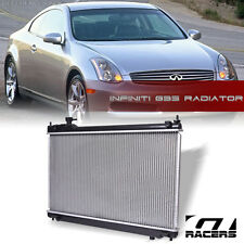 ALUMINUM CORE RADIATOR FOR 2003-2005 INFINITI G35 4DR SEDAN 3.5L V6 ENGINE AT/MT