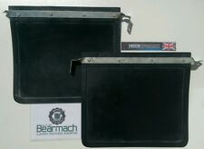 Land Rover Series 2, 2a, 3, Front Mudflaps, thick Heavy Rubber Bearmach 320601