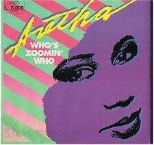 LP 6113  ARETHA  WHO'S ZOOMIN' WHO
