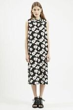 Topshop Takashi Floral Print Midi Dress By Boutique (size US 8 = UK 12)**