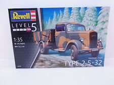 LOT 37005 | Revell 03250 German Truck Type 2,5-32 Bausatz 1:35 NEU in OVP