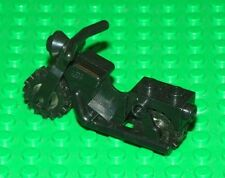 LEGO - Minifig Vehicle, Old Motorcycle with Wheels - Black