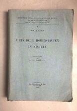 L'ETA' DEGLI HOHENSTAUFEN IN SICILIA COHN 1932