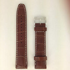 Seiko Calf 4A332 B 21 - 7T62-0HX0 SNAC11 Watch Strap 4A332JL Brown Leather