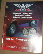 Phoenix USA Inc INOX RUOTA Simulatore CATALOGO USA 1995