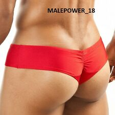 JOE SNYDER MenS IMPORTED SEXY THONG BIKINI Underwear-M -RED