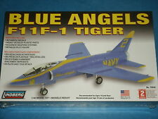 Lindberg Model KIT; BLUE ANGELS F11F-1 TIGER  Model Kit (Easy To Assemble) 10+