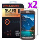 2-PACK Tempered Glass Screen Protector Film for Samsung Galaxy S5 Active