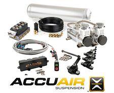 AccuAir e-Level Rocker Switch Air Bag Management Kit Stage 2 Dual Viair 400C VU4