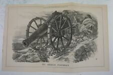 "17x10.5"" punch cartoon 1864 THE AMERICAN JUGGERNAUGHT civil war"