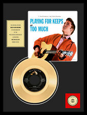 "ELVIS PRESLEY - TOO MUCH 7"" GOLDENE SCHALLPLATTE"