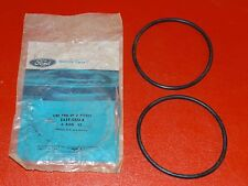 NOS 1984 Ford Lincoln Mercury 2.4 Diesel oil filter cover to housing seals PAIR
