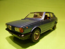 MEBETOYS 8623 ALFA ROMEO GIULIETTA  - BLUE METALLIC 1:25 - VERY GOOD CONDITION