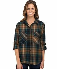 NEW Sanctuary Boyfriend Women's Isabelle Plaid Shirt Size XS NWT