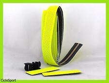 Ruban adhésif couvre-guidon pour vélo de course / pignon fixe - jaune fluo