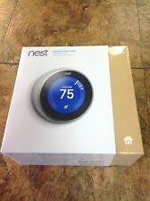 Nest Third Generation Learning Thermostat T3007ES