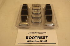 AFTERMARKET ACCESSORY ENGINE GUARD BOOTREST BOOT RESTS FOR HARLEY DAVIDSON