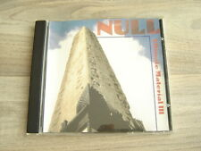 K K NULL industrial noise CD japan experimental Ultimate Material III 1995 90s3