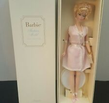 Lingerie #4 Silkstone Barbie Doll #55498 NRFB 2001 Limited Edition Blonde Bubble