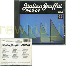 ITALIAN GRAFFITI 1968/69 RARO CD 1989 RCA - I OOH PATTY PRAVO NADA THE ROKES MAL