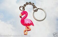 PINK FLAMINGO BIRD KEYRING/Keychain/bag charm