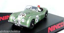 NINCO SPORT 50695 JAGUAR XK120 #21 LEMANS 1951  1/32 SLOT CAR