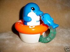2003 TOMY SPINNING SPIN DOLPHIN FISH TOY