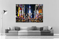 NEW YORK TIME SQUARE Wall Art Poster Grand format A0 Large Print