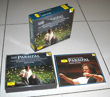 4 Cd Richard Wagner PARSIFAL James Levine Placido Domingo Deutsche Grammophon 94