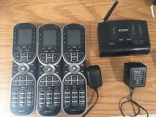 3x URC MX-880 Universal Remote Control with LCD Display and 1x MRF260 RF Base