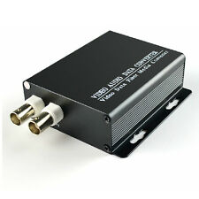 High Quality 2 Channel Video Fiber Optical Converters +Data S/M 20KM Analog CCTV