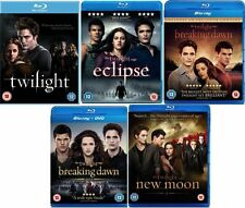 TWILIGHT SAGA 1-5 Blu ray Set All 5 Movie Film NEW MOON ECLIPSE BREAKING DAWN 2