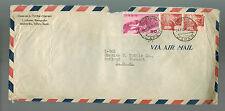 1954 Japan cover Airmail to USA # C33