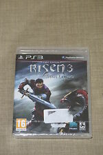 PS3 : RISEN 3 : TITAN LORDS - Nuovo, sigillato, ITA ! First Edition con Extra