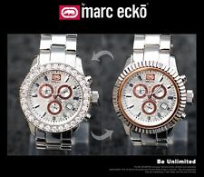 Marc Ecko Men's Stainless Steel Interchangeable Watch Silver E18500G1