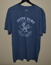 Mens Life Is Good Notre Dame Fighting Irish T-Shirt size Large Soft Cotton