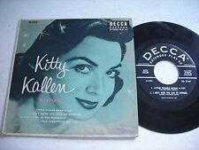w PICTURE SLEEVE Kitty Kallen Sings 1954 45rpm EP