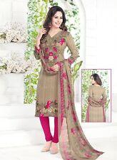 Ladies Designer Suit Dress Material Salwar Kameez Indian Suit D.No V1773