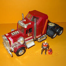 VINTAGE 1985 80s KENNER M.A.S.K MASK RHINO SEMI TRACTOR VEHICLE + ACTION FIGURE