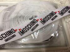 1 Metro Moschino impresión de Cinta de Grogrén Diseñador 22mm Tortas arco ficticio