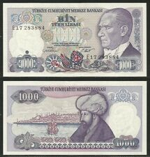 TURCHIA / TURKEY - 1000 Lira  L.1970 (1986) Pick 196 UNC (1)