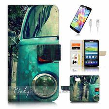 Samsung Galaxy S7 Flip Wallet Case Cover P3173 Kombi Van